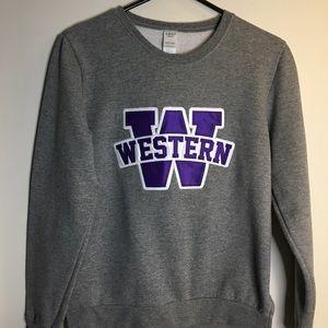 Tops - University of Western Sweatshirt U.W.O.